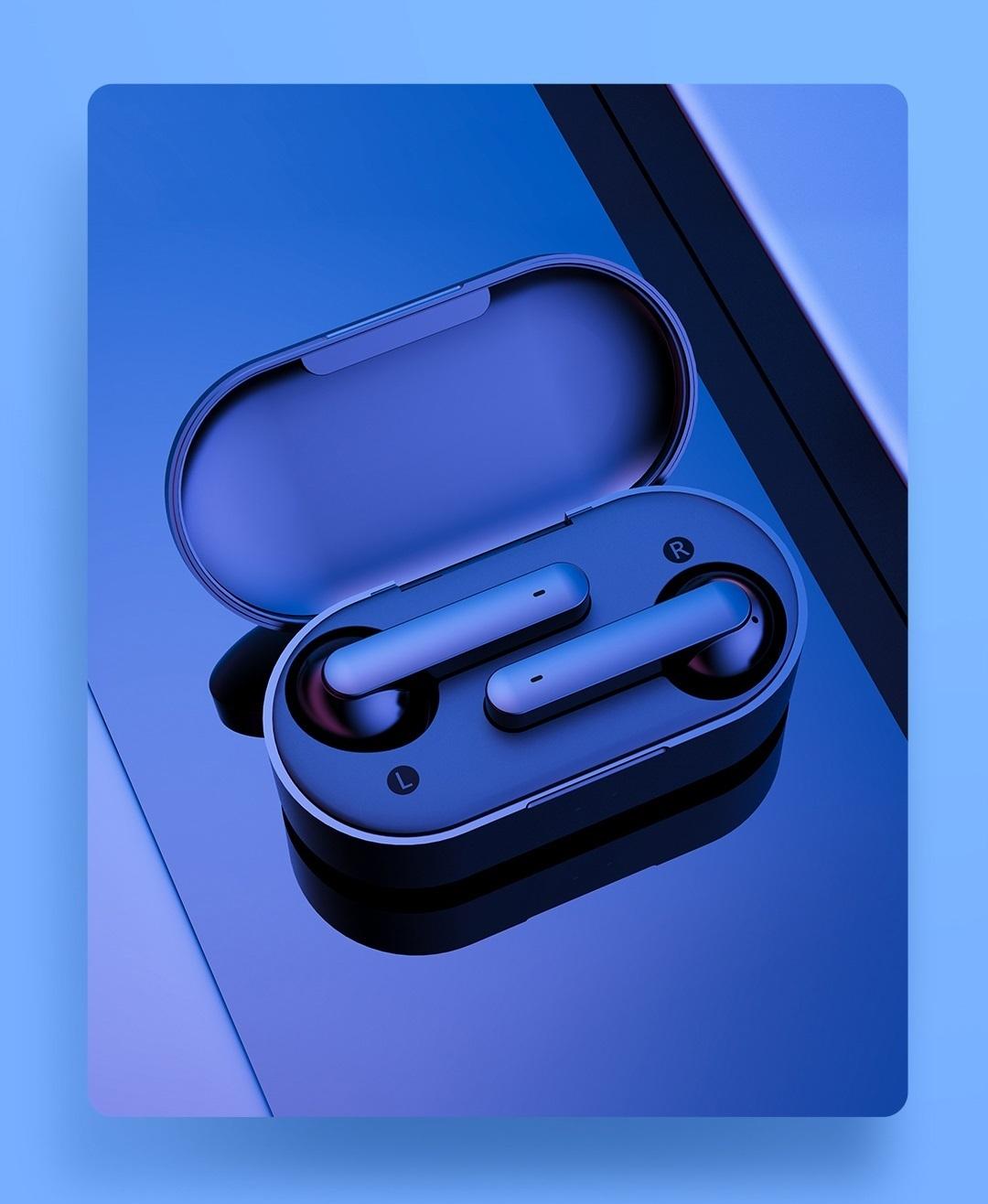 SmartZone.bg Безжични слушалки QCY T3 с Bluetooth 5.0