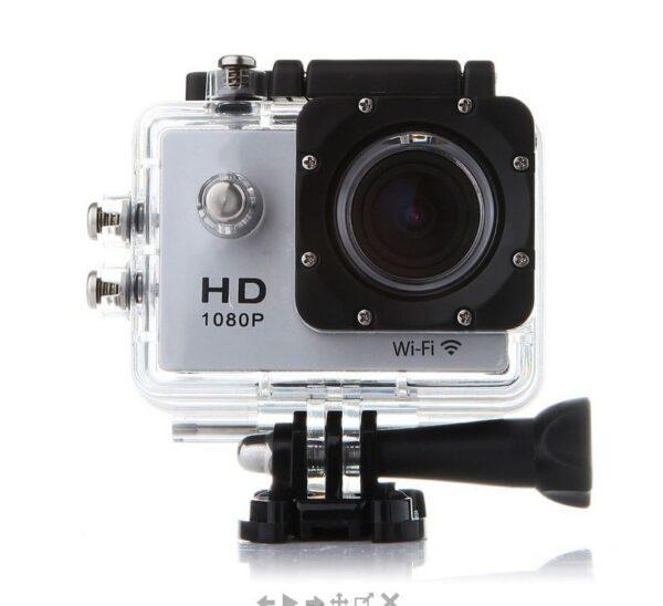 Екшън камера FullHD Wifi 12MP 1080P IP68