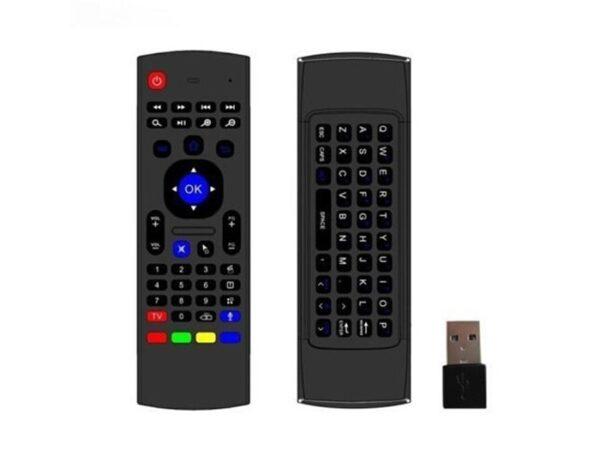 Дистанционно с клавиатура за смартфон, компютър и телевизор Air Fly