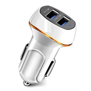 Зарядно за смартфон/таблет за кола 5V/3A Quick Charge 2xUSB