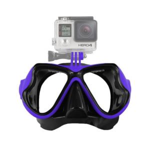 Подводни очила със стойка за екшън камера (маска за гмуркане)