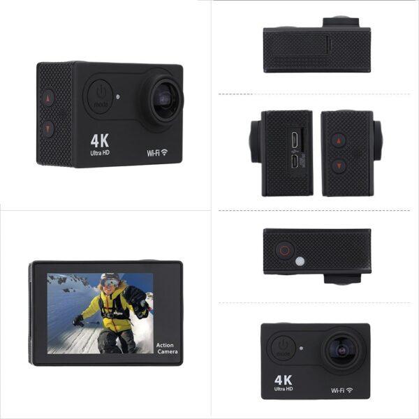 4K/30fps Wifi Екшън камера H9SE