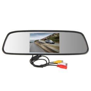 Огледало за кола с вграден 5 инча монитор