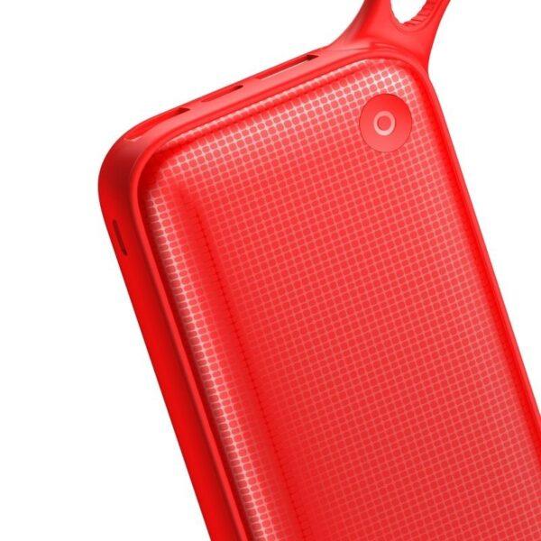 SmartZone.bg Външна батерия Baseus Powerful 20000mAh QC 3.0 (Червено)
