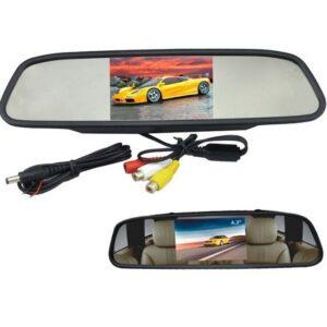 Огледало за кола с вграден 4.3 инча монитор
