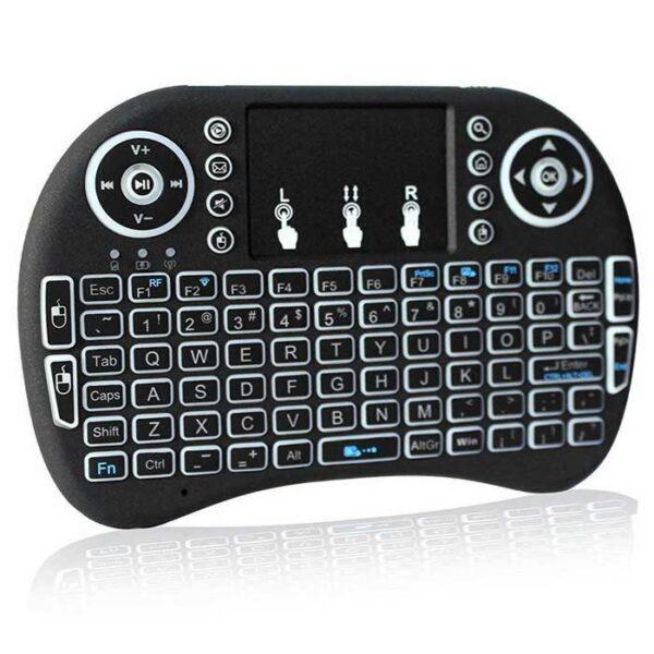 Мини клавиатура с тъчпад за смартфон/компютър/Smart телевизор
