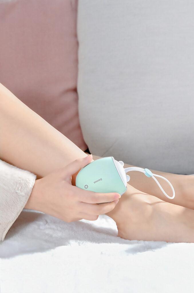 SmartZone.bg Джобен нагревател + преносима батерия Baseus (розово / жълто)
