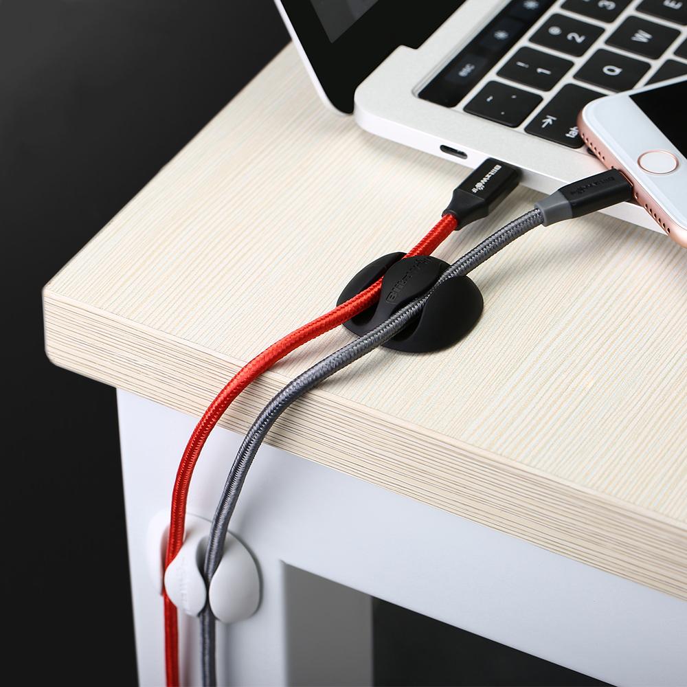 SmartZone.bg Органайзери за кабели BlitzWolf BW-PM1 (6 броя) (Бяло)