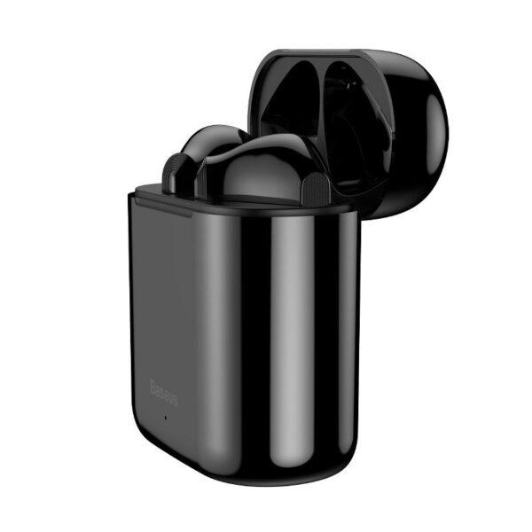 SmartZone.bg Безжични слушалки Baseus Encok W09 (черно / зелено)