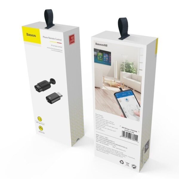 SmartZone.bg Дистанционно управление Baseus (USB Type C / Lightning)