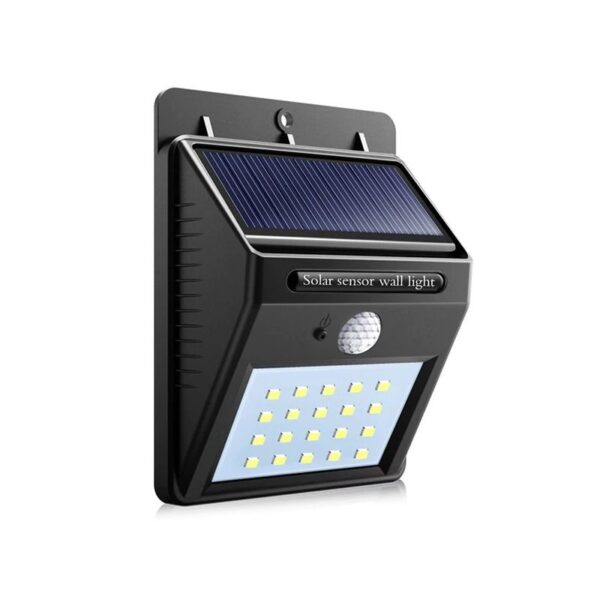 SmartZone.bg Соларна LED лампа, сензор за движение, 48 LED диода
