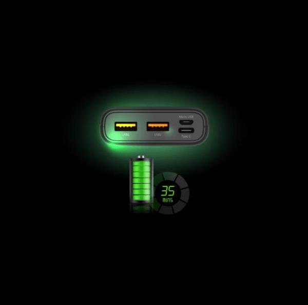 SmartZone.bg Външна батерия Silicon Power Powerbank Cell C10QC, 10000 mAh