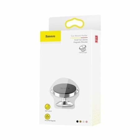 SmartZone.bg Магнитна стойка за телефон Baseus за табло - сребриста